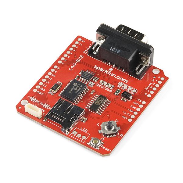 Can Bus Shield Dev 10039 Sparkfun Electronics