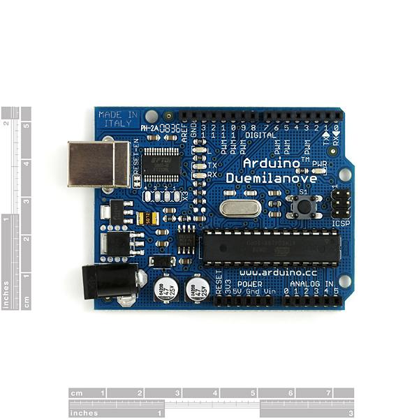 Arduino main board duemilanove dev sparkfun