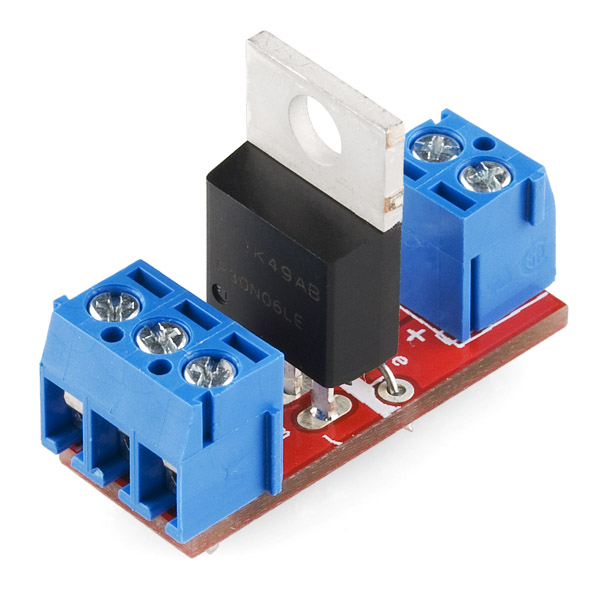 Sparkfun mosfet power control kit com