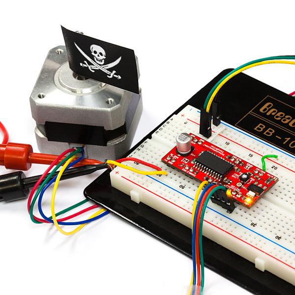 Easydriver Stepper Motor Driver Rob 10267 Sparkfun Electronics