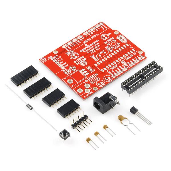Breadboard arduino compatible parts kit add on dev