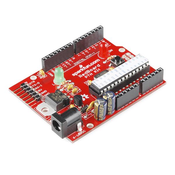 Arduino compatible pth kit dev sparkfun electronics