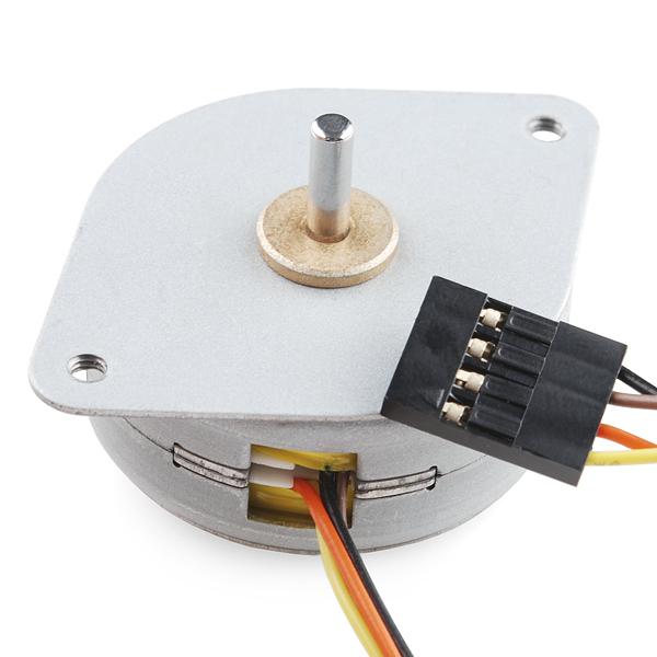 Small Stepper Motor Rob 10551 Sparkfun Electronics