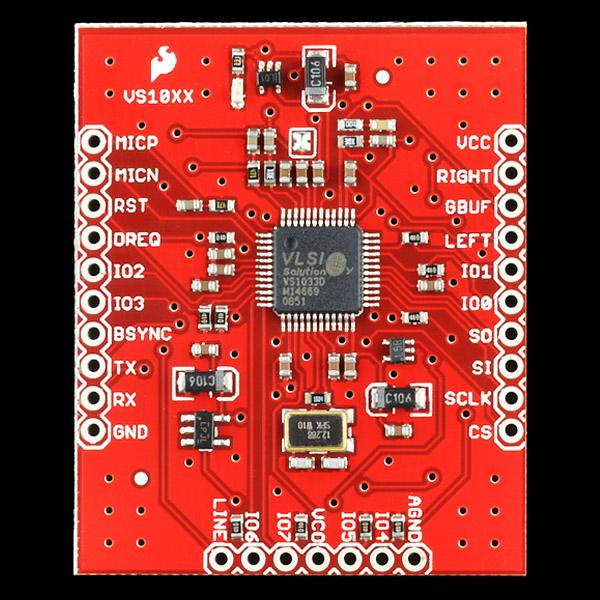 VS1053 Codec MicroSD Breakout - MP3