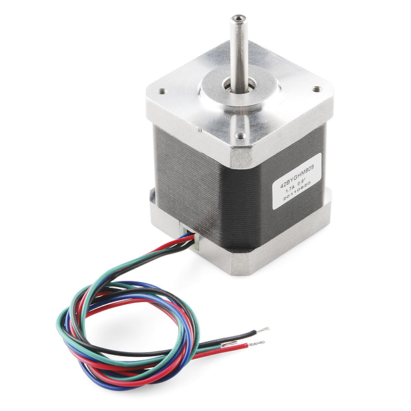 Stepper Motor 68 Oz In 400 Steps Rev Rob 10846