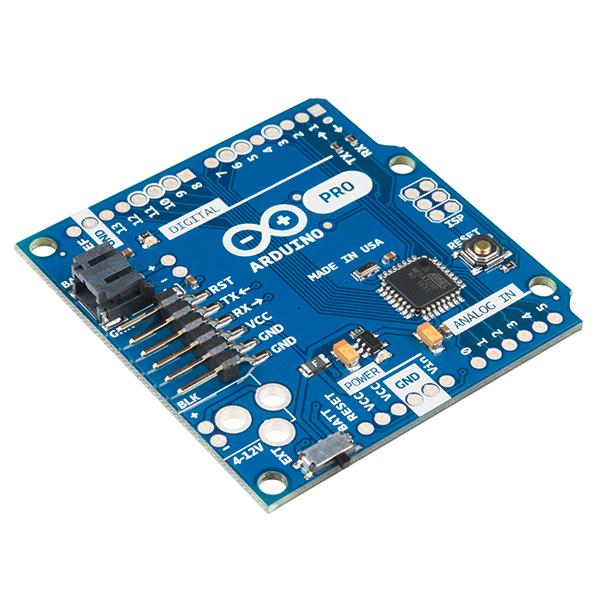 Arduino pro v mhz dev sparkfun electronics