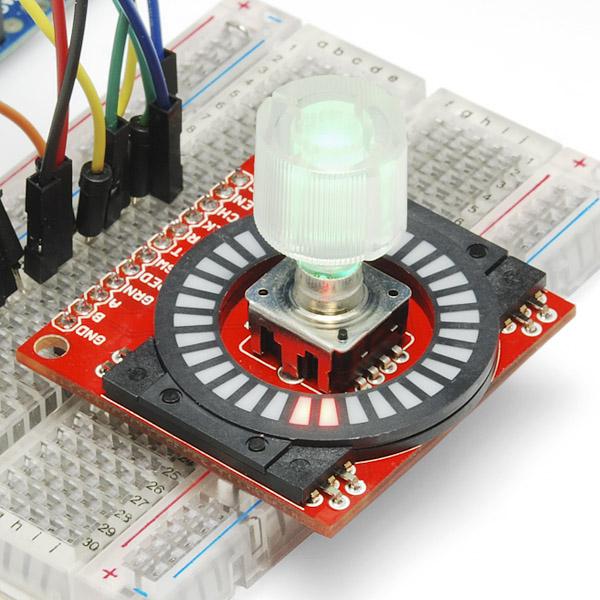 Rotary Encoder Illuminated Rgb Com 10982 Sparkfun