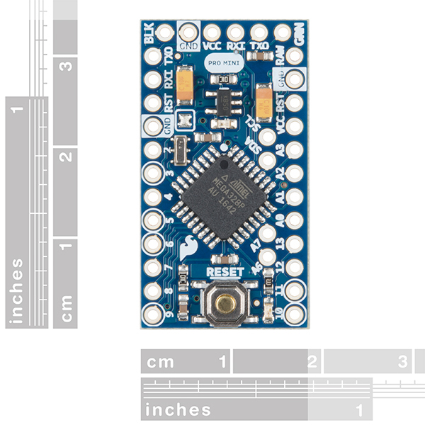 arduino pro mini 328 - 5v  16mhz - dev-11113