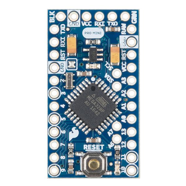 Arduino pro mini v mhz dev sparkfun
