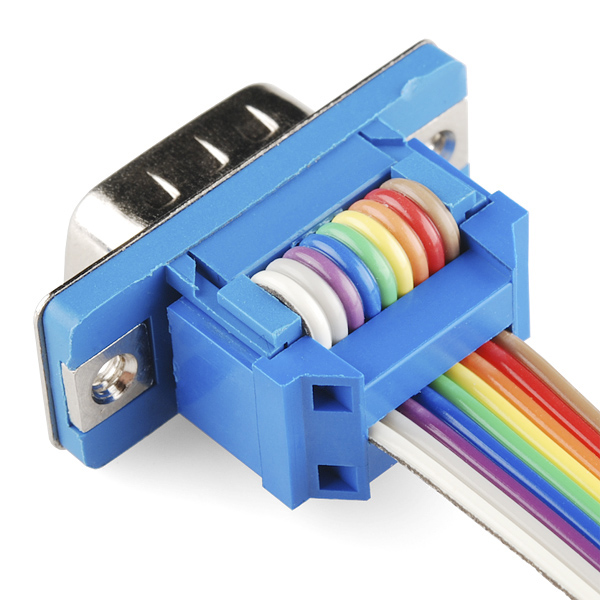 Ribbon Cable To Cable : Serial connector ribbon cable male pin prt