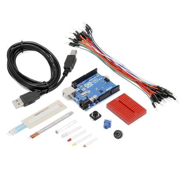 Starter kit for arduino flex dev sparkfun