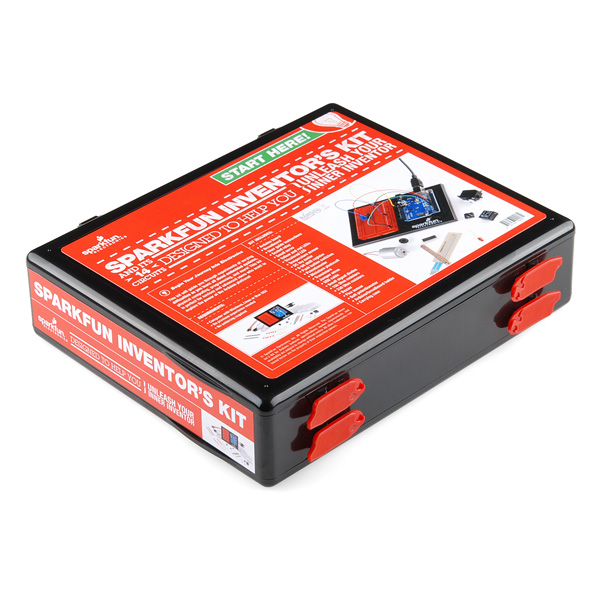 Sparkfun inventor s kit for arduino with retail case rtl