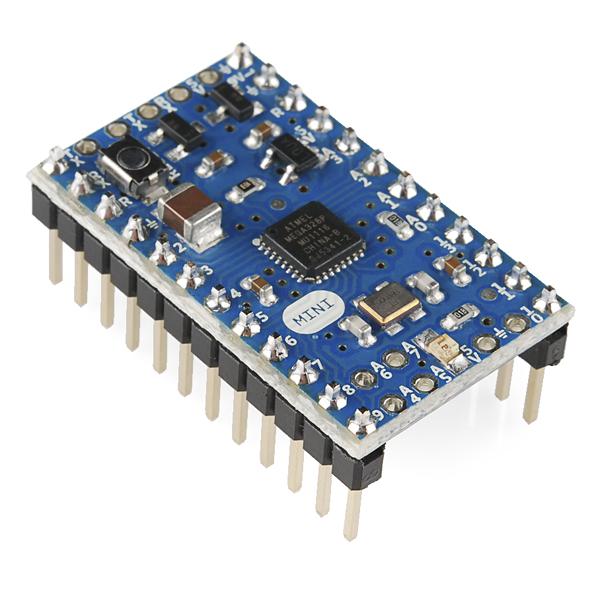 Arduino mini dev sparkfun electronics