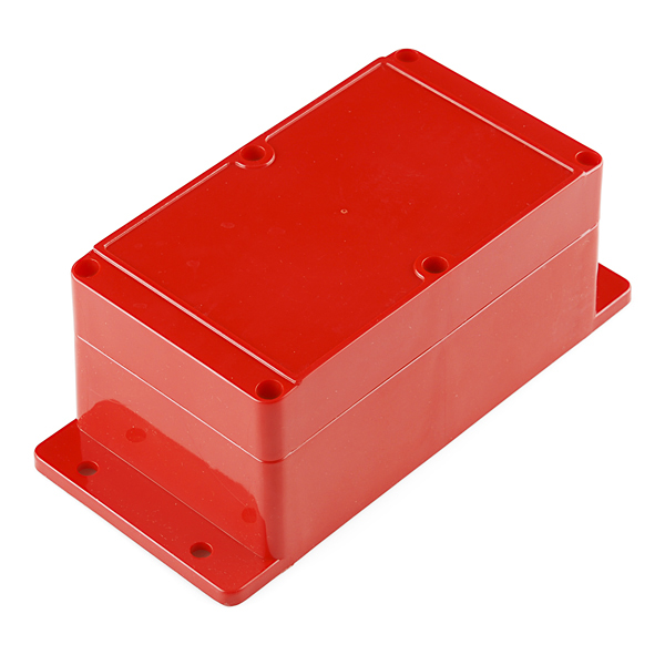 large red enclosure
