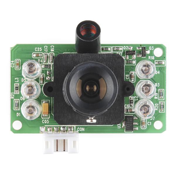 Linksprite Jpeg Color Camera Ttl Interface Infrared Sen 11610 Sparkfun Electronics