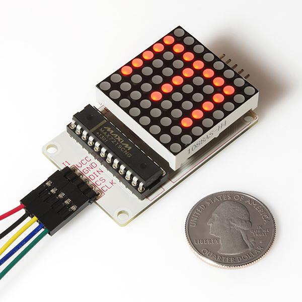 Javascript robotics led matrix api johnny five