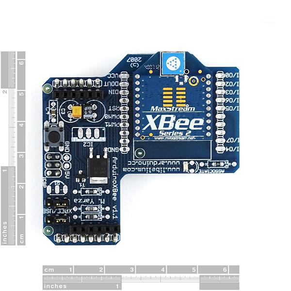 Arduino XBee Wireless Shield - RobotShop