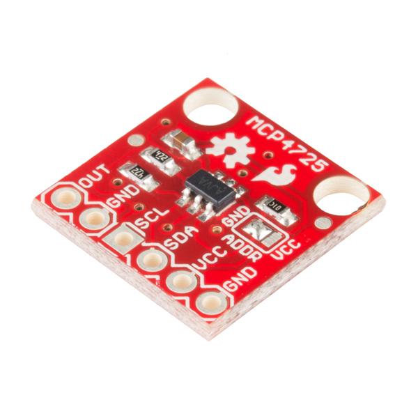 sparkfun i2c dac breakout - mcp4725 - bob-12918