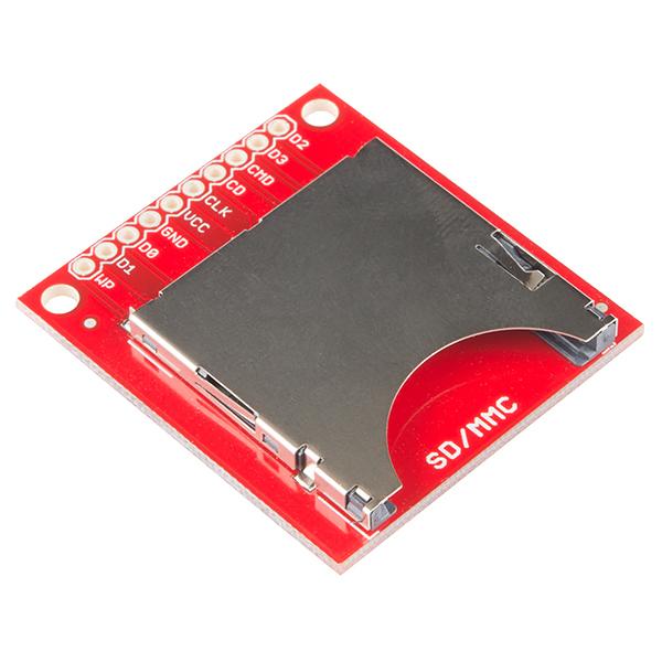 sparkfun sd  mmc card breakout - bob-12941