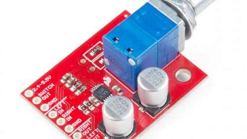 Noisy Cricket Stereo Amplifier - 1.5W Hookup Guide