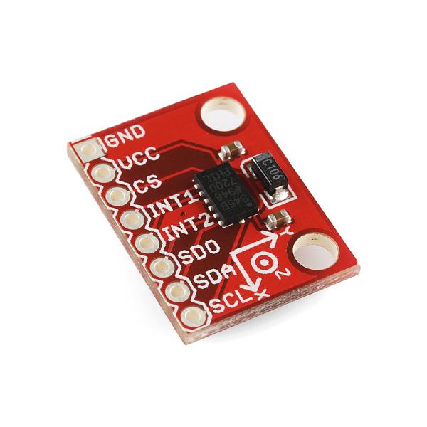 Accelerometer breakout board