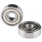 Ball Bearing - Non-Flanged (8mm Bore, 22mm OD, 2 Pack)