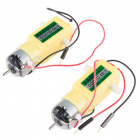 Hobby Gearmotor - 140 RPM (Pair)