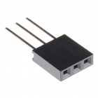 """Stackable Header - 3 Pin (Female, 0.1"""")"""
