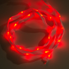 Sewable LED Ribbon - 1m, 25 LEDs (Red)