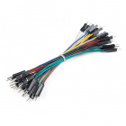 "Jumper Wires Premium 4"" M/M - 26 AWG (30 Pack)"