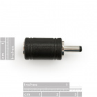 Barrel Jack Adapter 5.5mm to 3.5mm