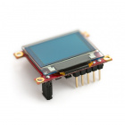 "Serial Miniature OLED Module - 0.96"" (uOLED-96-G1GFX)"