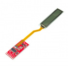 SparkFun Flexible Grayscale OLED Breakout - 1.81""