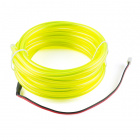 Bendable EL Wire - Fluorescent Green 3m