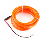 Bendable EL Wire - Orange 3m