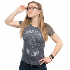 Master of Coin Women's Shirt - XXL (Gray)