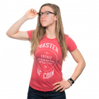 Master of Coin Women's Shirt - Medium (Red)