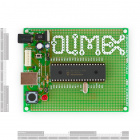 40 Pin PIC Development Board for PIC18F4550 with USB