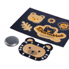 PiMoroni Bearables Bear LED Badge