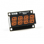 Qwiic Alphanumeric Display - Pink
