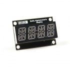 Qwiic Alphanumeric Display - Red
