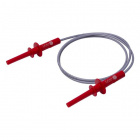 4mm Long-Reach Sheathed Banana Plug Test Lead - 100cm (Red)