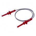 4mm Long-Reach Sheathed Banana Plug Test Lead - 100cm (Red)