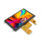 Mikroe TFT Color Display w/ Capacitive Touch Screen - 5""