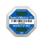 SpotSee ShockWatch RFID Impact Indicator - 15G (Blue)