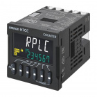 H7CC Digital Counter/Tachometer - 1-stage/Total/Preset, Screw Terminals, 12-48VDC, Contact Output(SPST)