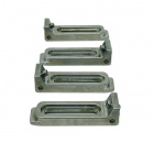 Gator Tooth Clamps - Stainless Steel