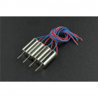 DFRobot 4PCS Coreless Micro Motor (7x16mm)