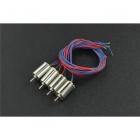 DFRobot 4PCS Coreless Micro Motor (6x10mm)