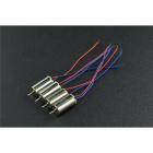 DFRobot 4PCS Coreless Micro Motor (6x12mm)